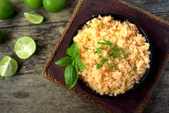 meksykańskie ryżu Obrazy Royalty Free