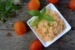 meksykańskie ryżu Zdjęcia Stock