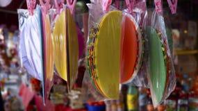 Meksykańskiego cukierku nazwani obleas fotografia stock