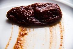Meksyka?scy korzenni chipotle pieprze obrazy royalty free