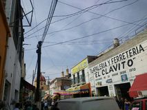 meksykańska ulica Zdjęcie Royalty Free