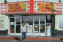 Meksykański kino Fotografia Stock