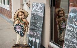Meksykański restauracja znak Fotografia Royalty Free