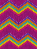 Meksykański szewronu wzór Fotografia Royalty Free