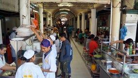 Meksykański traditonal jedzenia rynek Zdjęcia Royalty Free