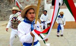 Meksykańskich tancerzy los nazwani arrieros Obrazy Stock