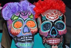 Meksykańskie czaszki Zdjęcie Stock