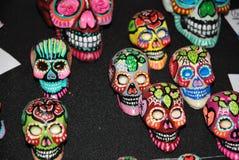 Meksykańskie czaszki Obrazy Royalty Free