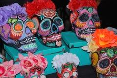 Meksykańskie czaszki Zdjęcia Stock