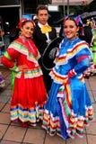 meksykańskie tancerek Zdjęcia Royalty Free