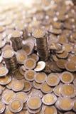 Meksykańskiego peso monety Fotografia Royalty Free