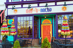 meksykańskiej restauracji Obraz Royalty Free