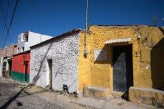 Meksykanów domy w San Miguel De Allende Fotografia Stock