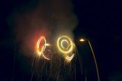 Meksykanów fajerwerków Stylowy świętowanie Obrazy Royalty Free