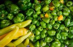 Meksykanów warzyw chili targowy habanero Zdjęcie Stock
