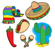 meksykanin gromadzenia danych Obraz Royalty Free
