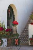 Meksykanin płytka na krokach w klatce schodowej Obraz Stock