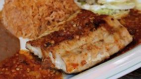 Meksykanin Piec na grillu ryba zbiory