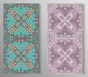 Meksykanin stylizujący Talavera tafluje bezszwowego wzór Tło dla projekta i mody Język arabski, indianów wzory Fotografia Stock