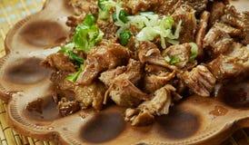 Meksykanin Wolna kuchenka Ciągnąca wieprzowina Obraz Stock