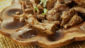 Meksykanin Wolna kuchenka Ciągnąca wieprzowina Zdjęcie Royalty Free