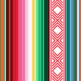 meksykanina bezszwowy deseniowy Pasiasta tekstura z ornamentem dla szkockiej kraty, koc, dywan Tło Dla dekoraci royalty ilustracja