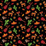 meksykanina wzór Zdjęcia Royalty Free