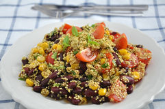 Meksykańska Quinoa sałatka Obraz Stock