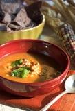 meksykańska zupę. Fotografia Royalty Free