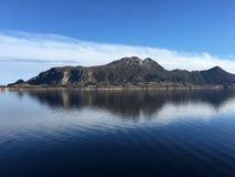Meløya海岛,诺尔兰,挪威 库存照片