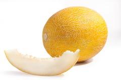 Melão amarelo Fotografia de Stock Royalty Free