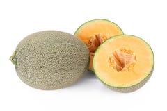 Melão de Hami do melão do cantalupo Fotos de Stock Royalty Free