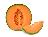 Melão do Cantaloupe imagem de stock