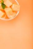 Melão do Cantaloupe Foto de Stock