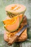 Melão do cantalupo Fotos de Stock