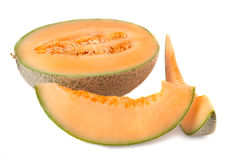 Melão maduro do cantalupo Foto de Stock
