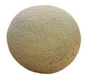 Melão maduro suculento isolado imagem de stock