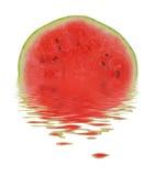 Melão na água Foto de Stock