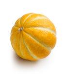Melón anaranjado en el fondo blanco Foto de archivo libre de regalías