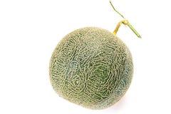 melón en el fondo blanco, un conjunto del cantalupo de frutas del melón del cantalupo aisladas en el fondo blanco foto de archivo libre de regalías