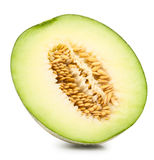 Melón verde del cantalupo Foto de archivo libre de regalías