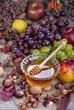 Mel com frutos do outono Fotografia de Stock Royalty Free