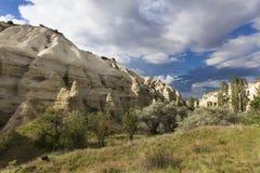 Mel da montanha e vales vermelhos em Cappadocia Fotos de Stock