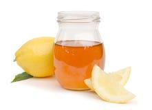 Mel e limão Foto de Stock