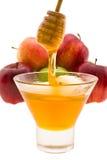 Mel e maçã Imagem de Stock