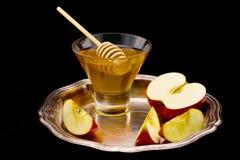 Mel e maçã Fotos de Stock