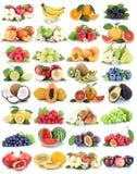 Mel för jordgubbe för äpplen för äpple för fruktfruktsamling nya orange arkivbild