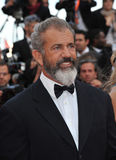 Mel Gibson. CANNES, FRANCE - MAY 18, 2014: Mel Gibson promotiing his new movie The Expendable 3 at the 67th Festival de Cannes Royalty Free Stock Photo
