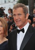 Mel Gibson. At the gala premiere of his new movie 'The Beaver' in competition at the 64th Festival de Cannes. May 17, 2011  Cannes, France Picture: Paul Smith Royalty Free Stock Photo