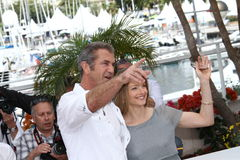 Mel Gibson and Jodie Foster Royalty Free Stock Photo